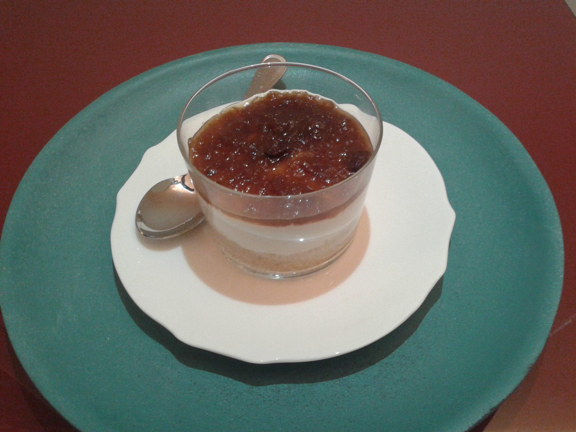 Mini Cheesecake salate con composta di cipolle di Tropea